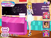Флеш игра онлайн Одень любимого учителя / Dress My Lovely Teacher Up