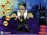 Флеш игра онлайн Наряд для Франкинштейна / Dress up Frankenstein