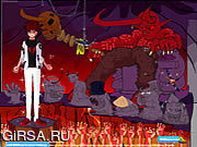 Флеш игра онлайн Образ дьявола