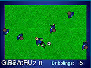 Флеш игра онлайн Flash Dribbler