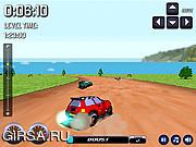 Флеш игра онлайн Дрифтуны в 3D