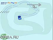 Флеш игра онлайн Вождение На Льду