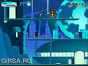Флеш игра онлайн Планета 8 Dodgers утки от верхнего Марс: Полет 5 / Duck Dodgers Planet 8 from Upper Mars: Mission 5