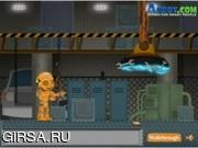 Флеш игра онлайн Манекен-беглец / Dummy Sneak Out