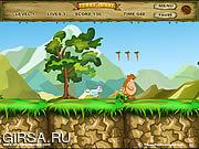 Флеш игра онлайн Funny Bunny Game