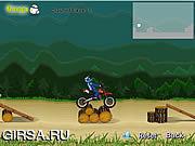 Флеш игра онлайн Потеха Dirtbike / Dirtbike Fun