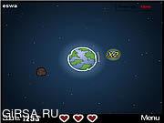 Флеш игра онлайн Защитник Земли