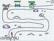 Флеш игра онлайн Пак против пришельцев / Pac Vs Alien