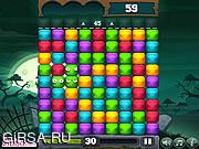 Флеш игра онлайн Веселые фрукты / Ecto Harvest
