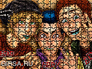 Флеш игра онлайн Эдди Эдд - пазл / Edd Eddy Ed Puzzle