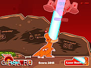 Флеш игра онлайн Eggstinction