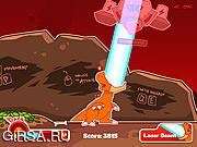 Флеш игра онлайн Превращение в динозавра