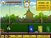 Флеш игра онлайн Мусорные корзины / Ekobasket