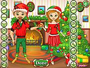 Флеш игра онлайн Рождественская вечеринка / Christmas Party