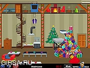 Флеш игра онлайн Побег Из Дома Эльфа