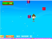 Флеш игра онлайн Эльф Санты / Elf Jump