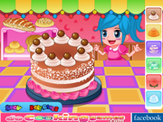 Флеш игра онлайн Emily Cake Challenge