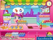 Флеш игра онлайн Emily Ice Cream Bar