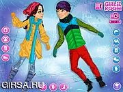 Флеш игра онлайн Emilys Diary Snow Angels