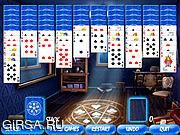 Флеш игра онлайн Пасьянс Загадочный номер / Enigmatic Room Solitaire