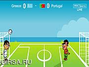 Флеш игра онлайн Отбей Мяч Головой