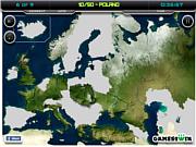 Флеш игра онлайн Карта Европы / Europe Map Test