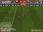 Флеш игра онлайн Чемпионы Европы По Футболу