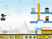 Флеш игра онлайн Злая игрушка / Evil Toys