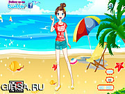 Флеш игра онлайн Экзотическое Солнце Одеваются / Exotic Sun Dressup