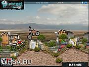 Флеш игра онлайн Экстремальные гонки на велосипеде / Extreme Bike Racing