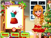 Флеш игра онлайн Беспорядок Санты / Facial Miss Santa