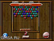 Флеш игра онлайн Падающие пузыри