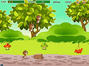 Флеш игра онлайн Family of Squirrels