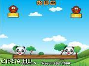 Флеш игра онлайн Панда / Fancy Pandas