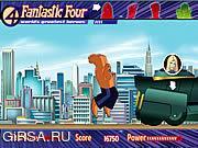 Флеш игра онлайн Фантастическая Четверка - Мочи Все