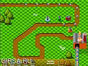 Флеш игра онлайн Защитник завода Фанты