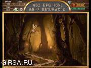 Флеш игра онлайн Алфавиты фантазия Лесной / Fantasy Forest Alphabets