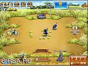 Флеш игра онлайн Веселая Ферма 3 / Farm Frenzy 3