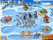 Флеш игра онлайн Farm Frenzy 3 Ice Age