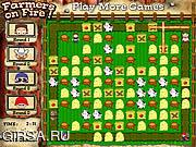 Флеш игра онлайн Farmers On Fire