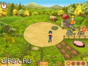 Флеш игра онлайн Мания фермы