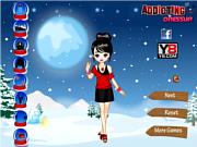 Флеш игра онлайн Зимняя Мода Одеваются / Fashion Winter Dress Up'
