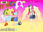 Флеш игра онлайн Ангел способа одевает вверх / Fashion Angel Dress Up