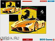 Флеш игра онлайн Ferrari Jigsaw Game