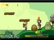 Флеш игра онлайн Fighting Zombies War