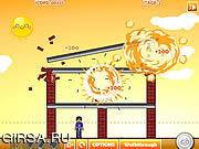 Флеш игра онлайн Поиск смайликов динамитом