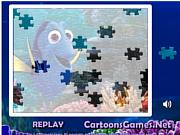 Флеш игра онлайн В поисках Дори. Пазл