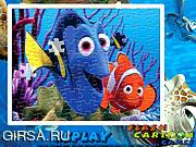 Флеш игра онлайн В поисках Немо / Finding Nemo Sort My Jigsaw