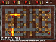 Флеш игра онлайн Fire and Bombs 2