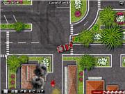 Флеш игра онлайн Водитель пожарной машины